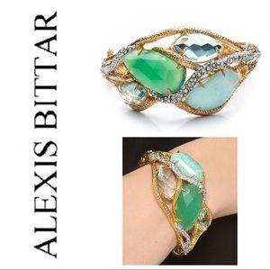 NWOT!- Alexis Bittar Stone Ecrusted Vine Bracelet.